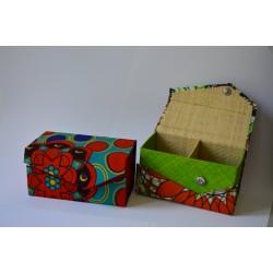 Cajas de tela para té