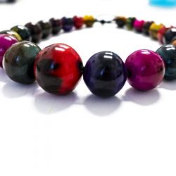 Collar cebú bolas de colores