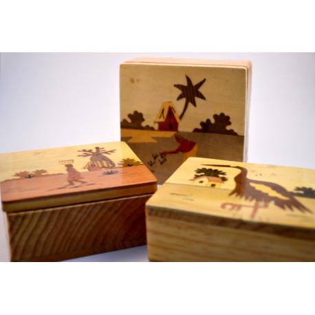 cajas madera medianas